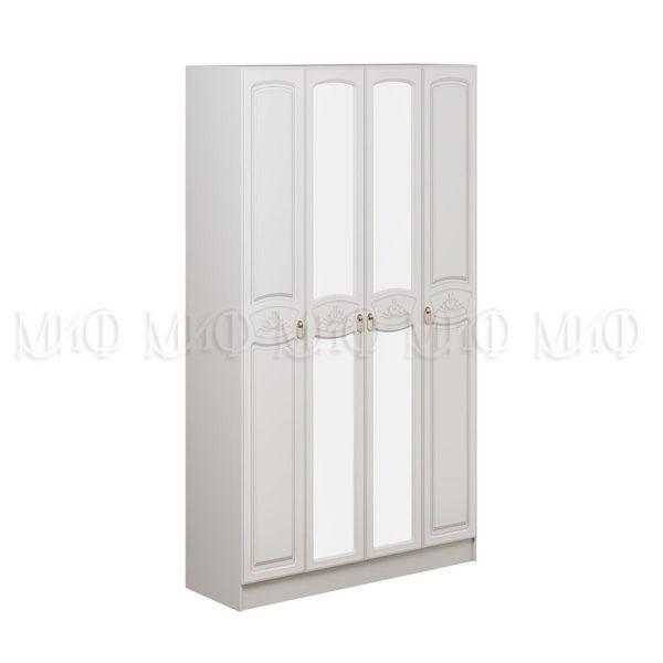Шкаф Александрина ШК Белый глянец 1