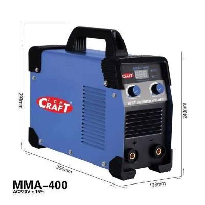Сварочный аппарат Craft MMA-400 IGBT 1 <h3>Уточните цену и наличие перед покупкой</h3> Доставка от 1-3 дней