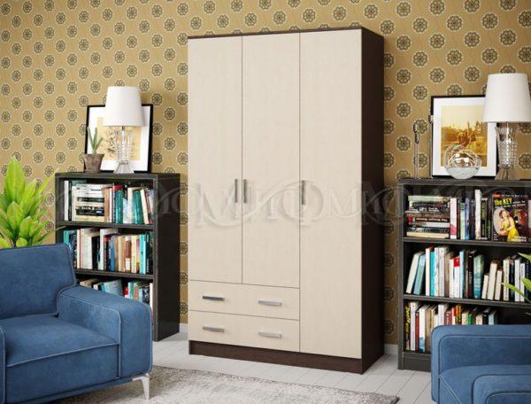 Шкаф 3-х ств 1 <h3><strong>Уточняйте наличие и цену перед покупкой</strong></h3> <h4>Доставка от 1-3 дней</h4>
