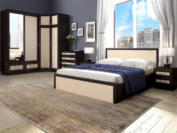 Спальный гарнитур Модерн 1 <h3>Уточните цену и наличие и цену перед покупкой</h3> <h4>Доставка от 1-3 дней</h4>
